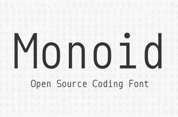Monoid Font Family