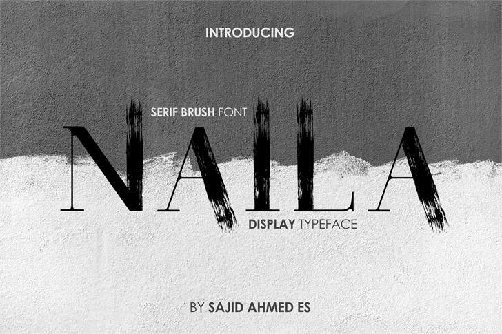 Naila Typeface-1