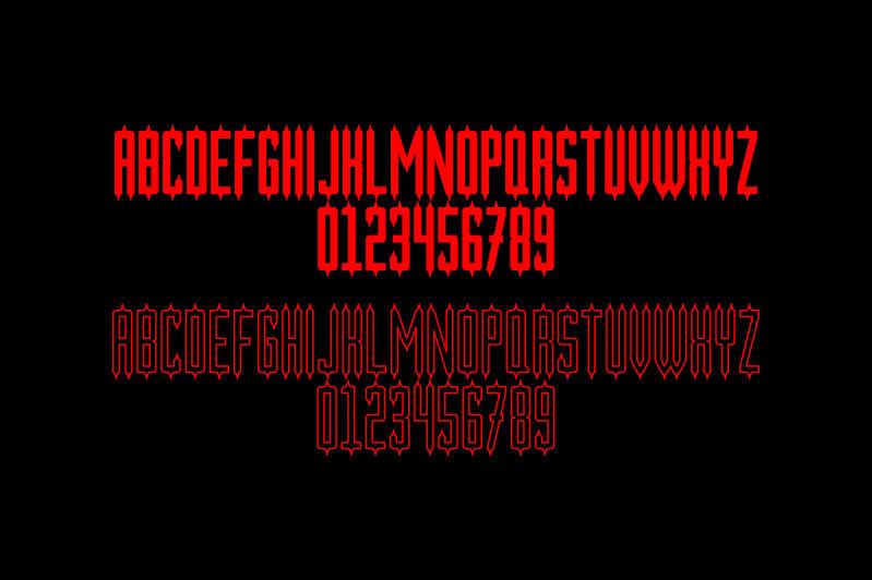 Nerakabilly Typeface-2