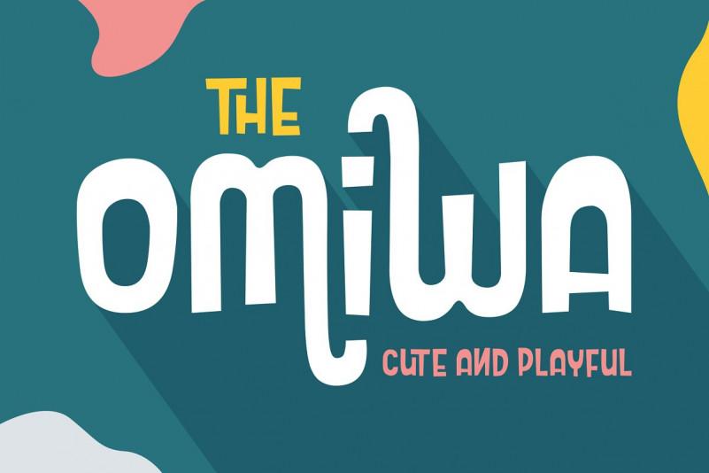 Omiwa Typeface-1