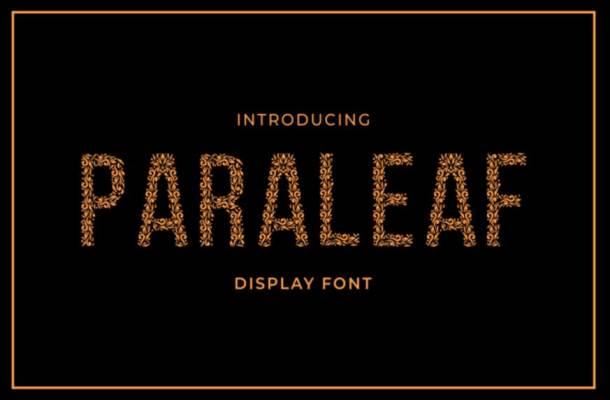 Paraleaf Font