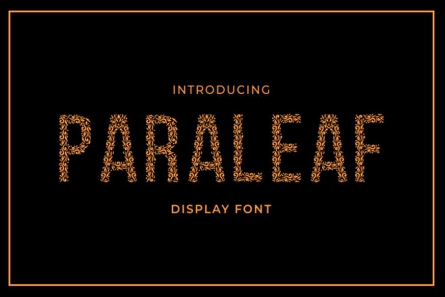 Paraleaf Font-1