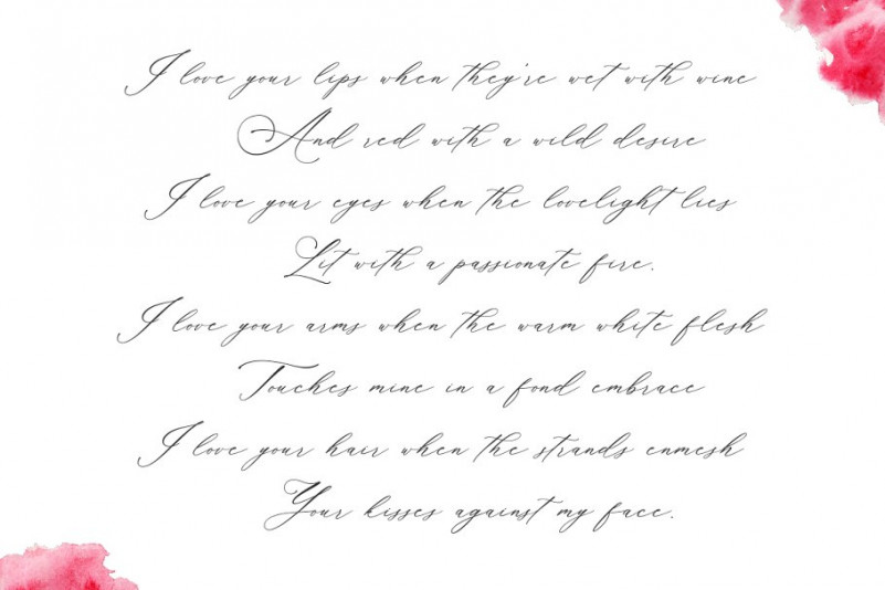 Planolla Calligraphy Font-3