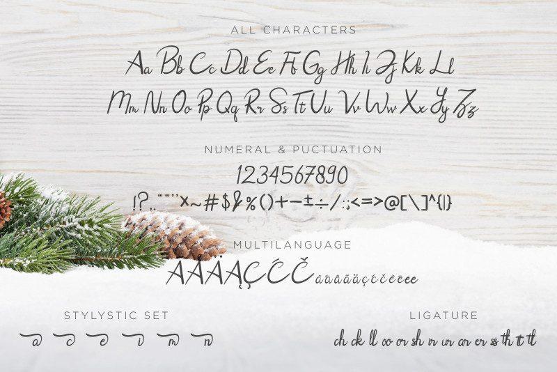 Rhoselinna Handwritten Font-3