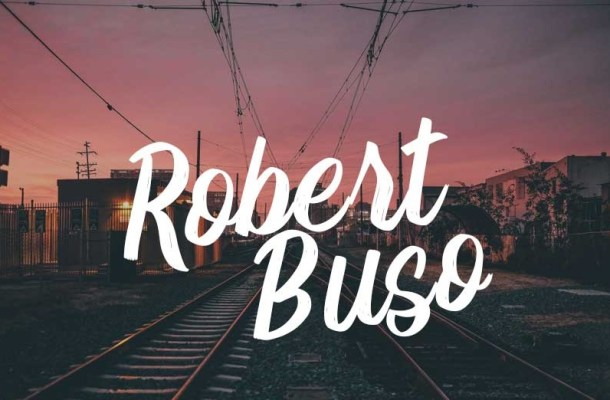 Robert Buso Brush Font