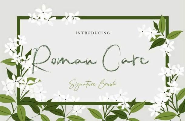 Roman Care Font