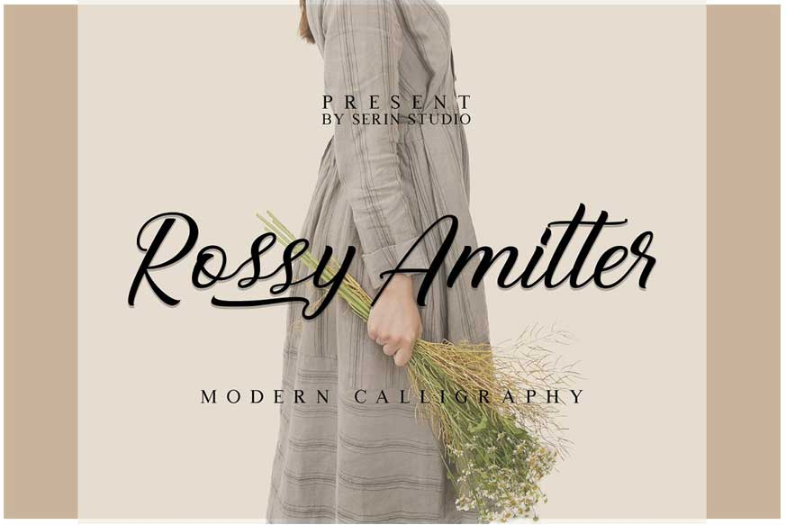 Rossy Amitter Font-1