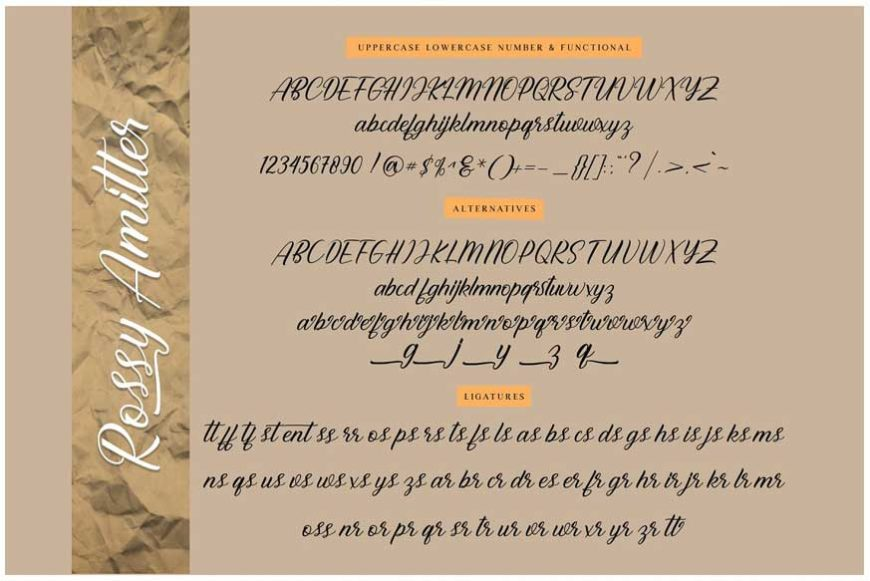 Rossy Amitter Font-2