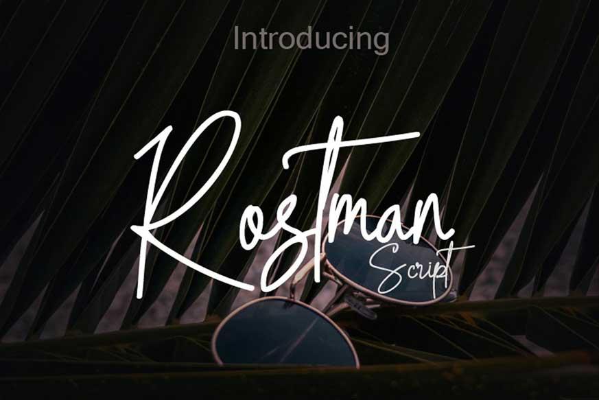 Rostman Font-1