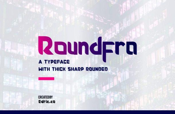 Roundfra Typeface