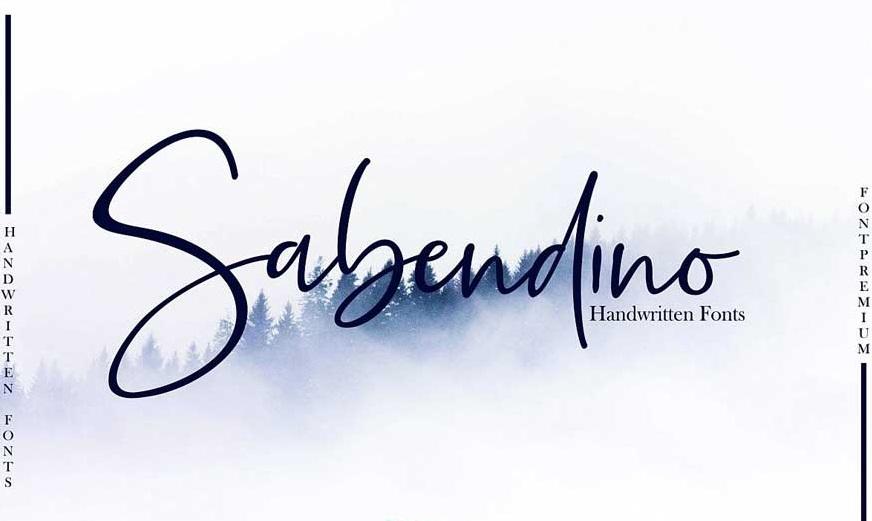 Sabendino Font-1