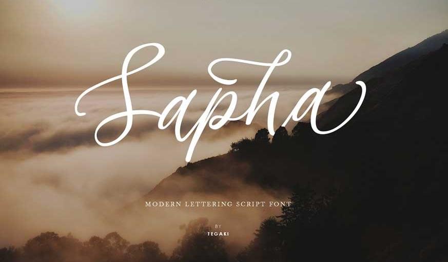 Sapha Font-1