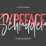 Schrader SVG Brush Font