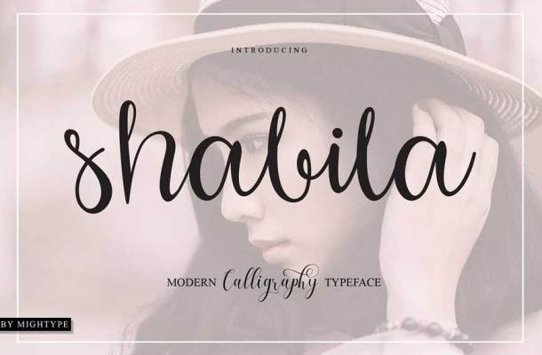 Shabila Font