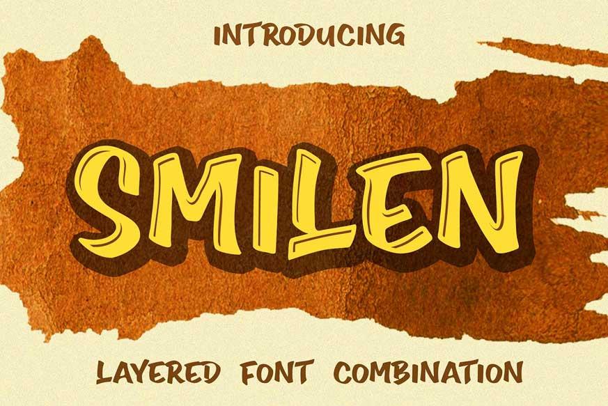Smilen Font-1