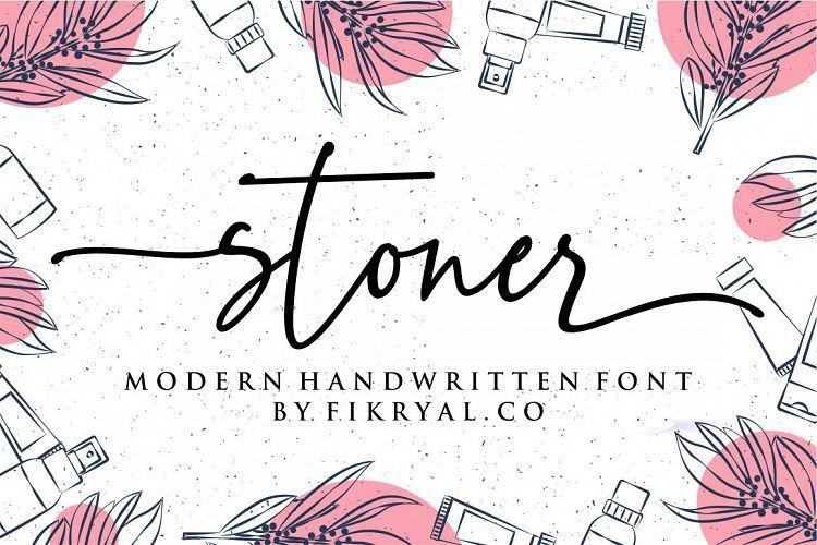 Stoner Script Font-1
