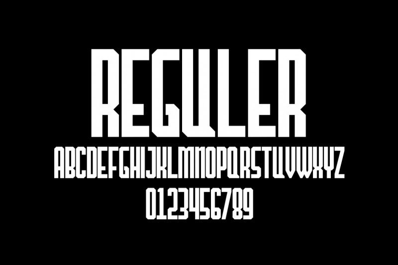 The Hangover Decade Font-3