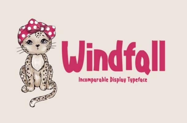 Windfall Font