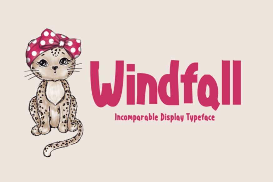 Windfall Font-1