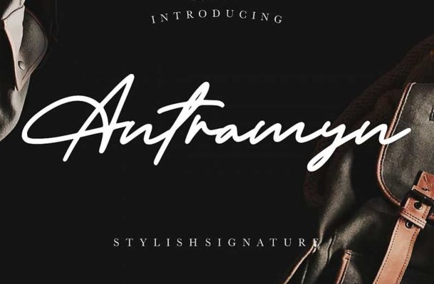 Antramyn Stylish Signature