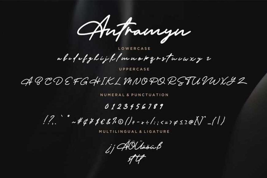 Antramyn Stylish Signature-3