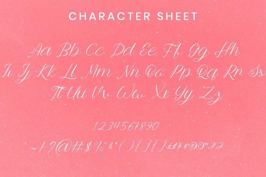 Anttalla Script Font-3