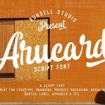 Arucard Brush Font