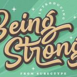 Be Strong Handwritten Font