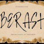Berash Brush Font
