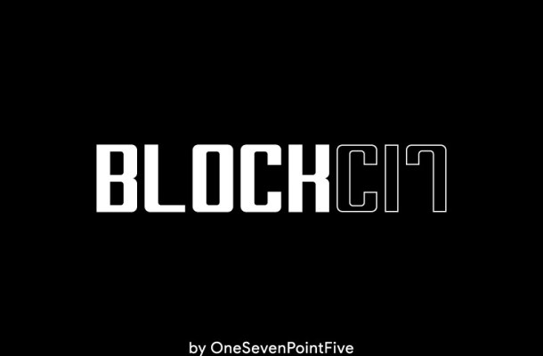 Block-C17 Bold Font