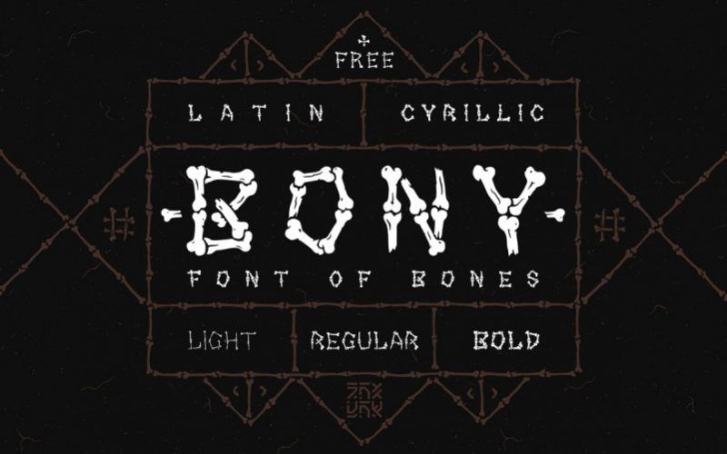 Bony Display Font-1