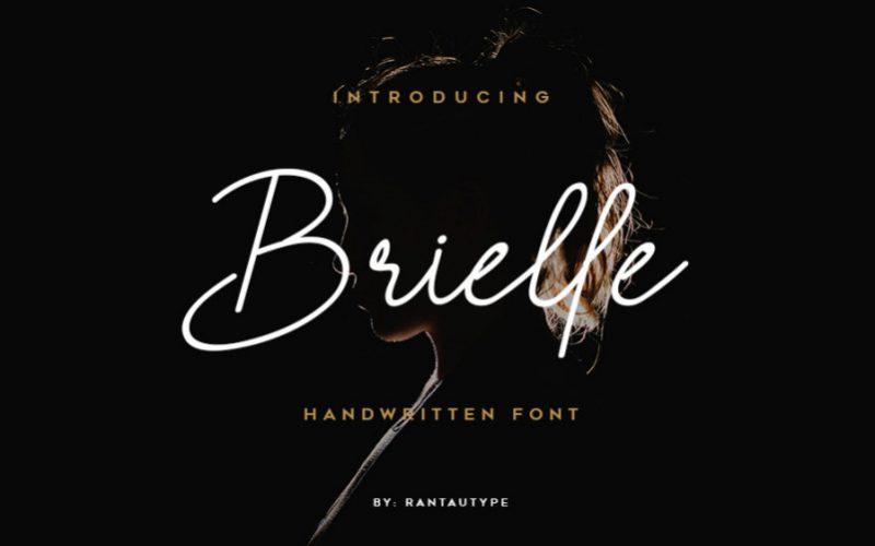 Brielle Handwritten Font-1