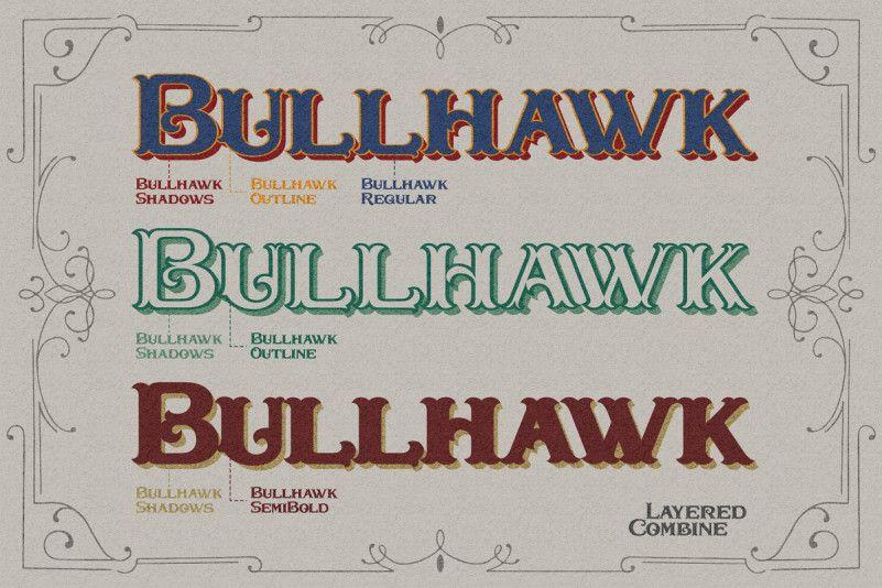 Bullhawk Font-1
