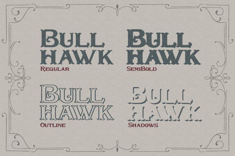 Bullhawk Font-2