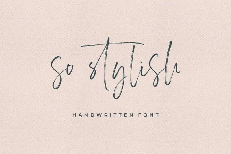 Carlinet Handwritten Font-2