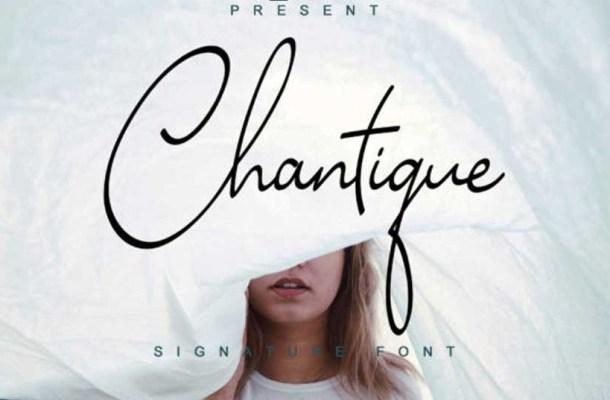 Chantique Font