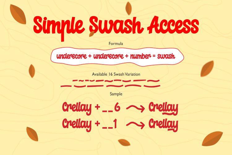 Crellay Cute and Fun Font-3
