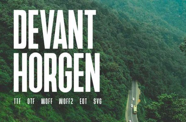 Devant Horgen Modern Typeface