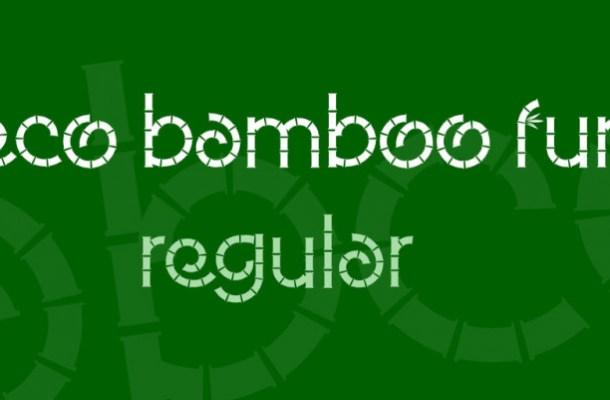 Eco Bamboo Fun Font-1