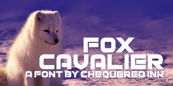 Fox Cavalier Font