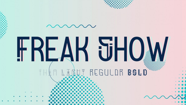 Freak Show Display Font-1