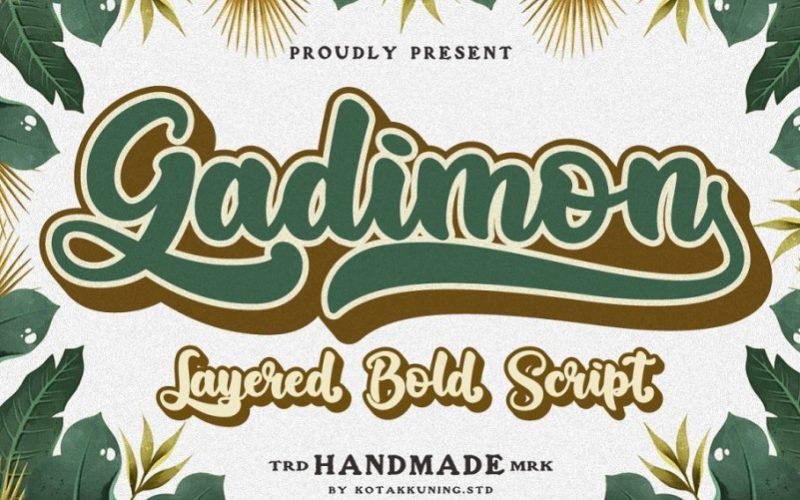 Gadimon Script Font-1