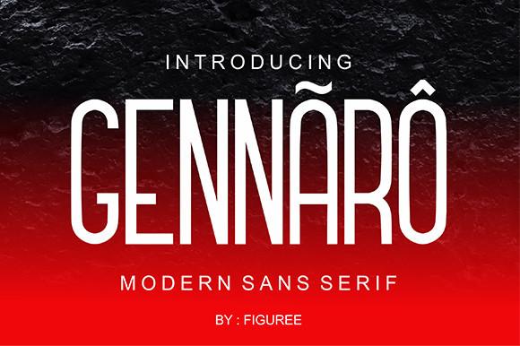 Gennaro Sans Font-1