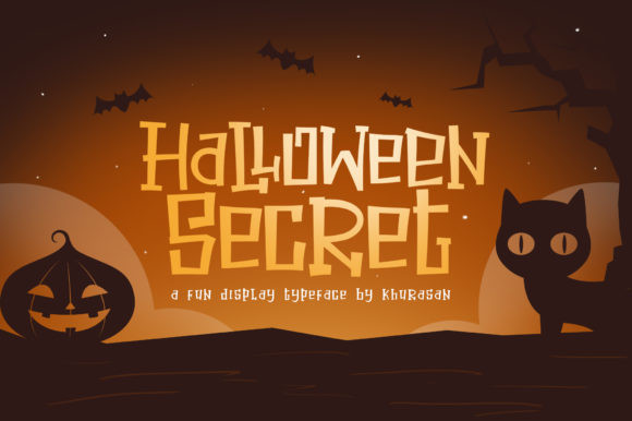 Halloween Secret Font-1