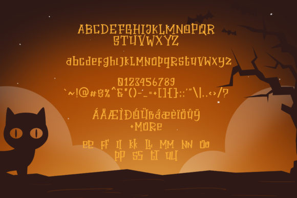 Halloween Secret Font-3
