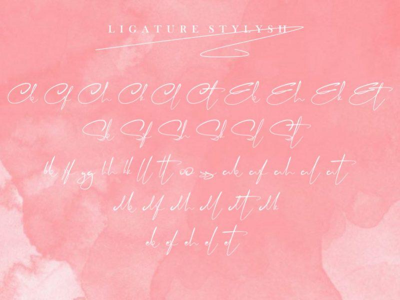 Jalitta Modern Calligraphy Font-4