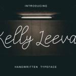Kelly Leevan Handwritten Font