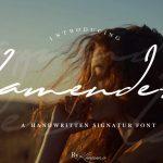 Lamender Handwritten Font