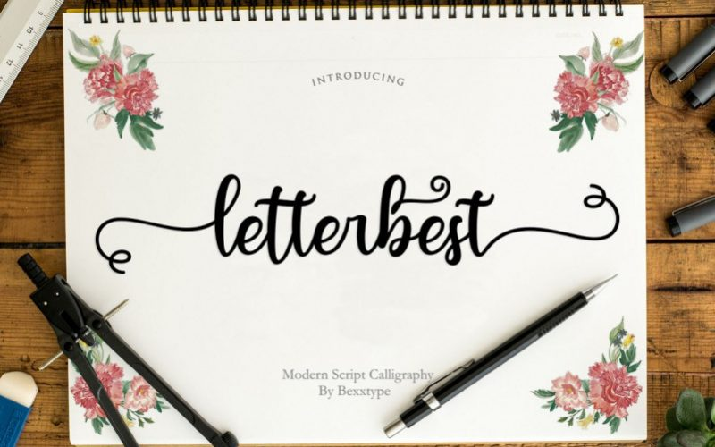 Letterbest Calligraphy Font-1