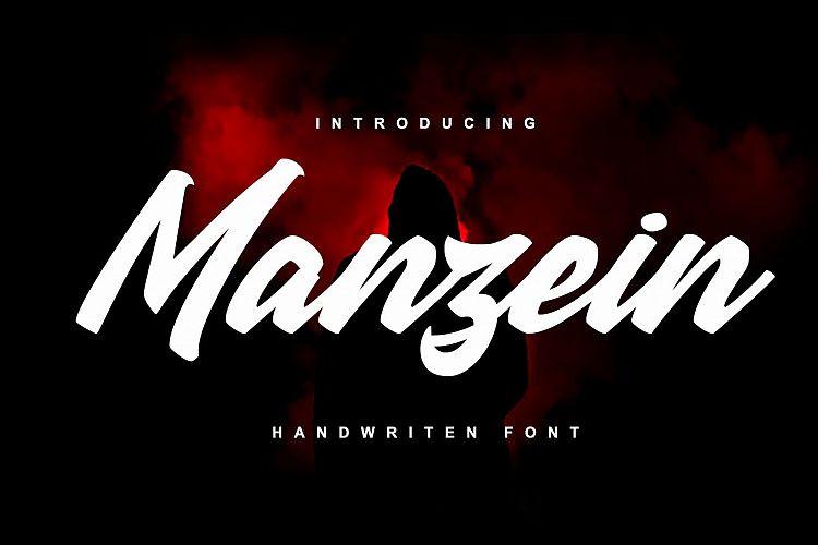 Manzein Script Font-1